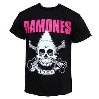 tričko pánské Ramones - Pinhead Skull - BRAVADO - 95222000