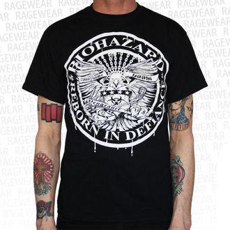 tričko pánské Biohazard - Eagle - Black - RAGEWEAR, RAGEWEAR, Biohazard