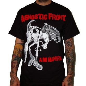 tričko pánské Agnostic Front - A Mi Manera - Black - RAGEWEAR, RAGEWEAR, Agnostic Front