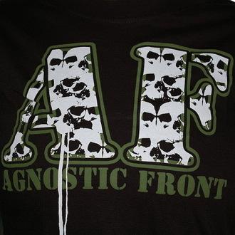 tričko dámské Agnostic Front - Skulls - RAGEWEAR, RAGEWEAR, Agnostic Front