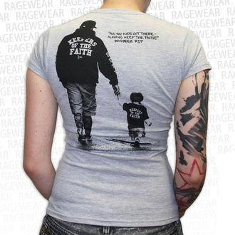tričko dámské Terror - New Blood - Grey - RAGEWEAR, RAGEWEAR, Terror