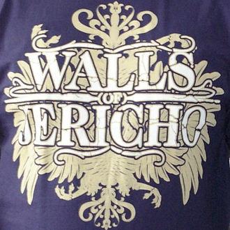tričko pánské Walls Of Jericho - New Crest - RAGEWEAR, RAGEWEAR, Walls of Jericho