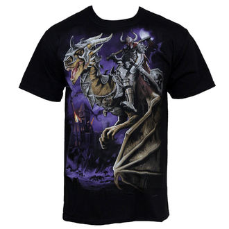 tričko pánské Dragon Master - LIQUID BLUE, LIQUID BLUE