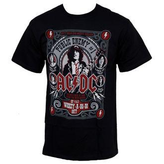 tričko pánské AC/DC - Public Enemy - LIQUID BLUE - 31973
