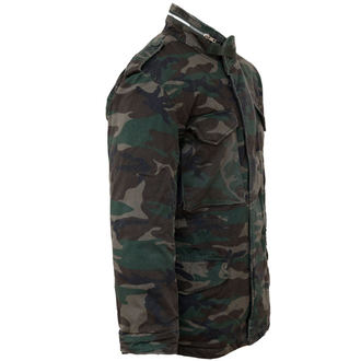 bunda SURPLUS - M65 JACKE WASHED - WOODLAND, SURPLUS