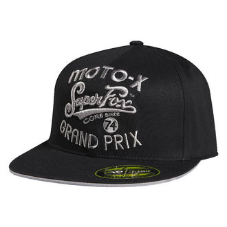 Kšiltovka FOX - SFMX 210 Fitted - BLACK