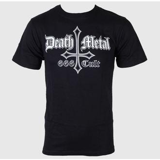 tričko pánské Black Metal - Death Metal 666 Cult - JSR - BLM104