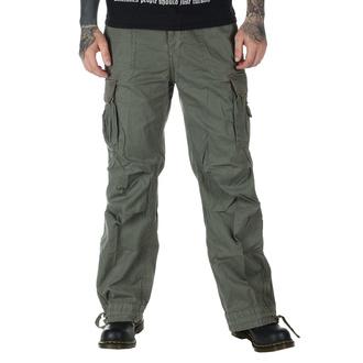 kalhoty pánské BRANDIT - Royal Vintage Trouser Oliv - 1002/1