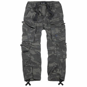 kalhoty pánské BRANDIT - Pure Vintage Trouser Darkcamo - 1003/4
