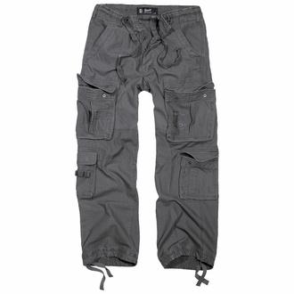 kalhoty pánské BRANDIT - Pure Vintage Trouser Anthracite - 1003/5