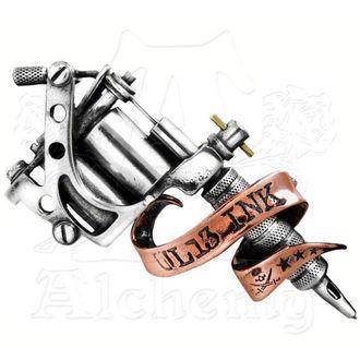 přezka Tattoo Gun ALCHEMY GOTHIC, ALCHEMY GOTHIC