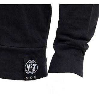 tričko pánské s dlouhým rukávem Jack Daniels - Black - SW298218JDS