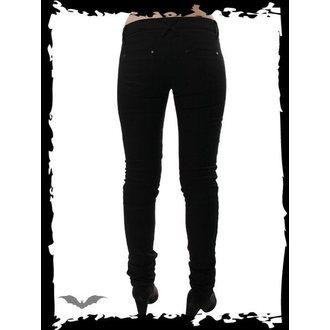 kalhoty dámské QUEEN OF DARKNESS - Skinny Fit