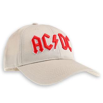 kšiltovka AC/DC - Red Logo Sand - ROCK OFF, ROCK OFF, AC-DC