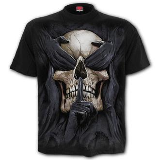 tričko pánské SPIRAL - SEE NO EVIL - Black - T180M101