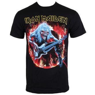 tričko pánské Iron Maiden - Fear Live Flames - ROCK OFF - IMTEE07MB