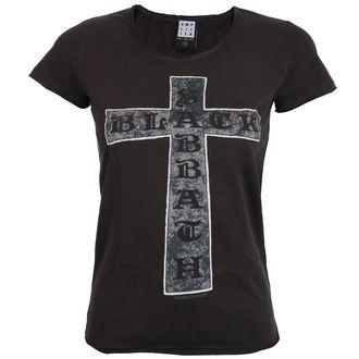 tričko dámské BLACK SABBATH - CROSS - CHARCOAL - AMPLIFIED