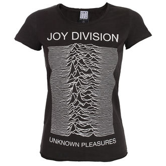 tričko dámské JOY DIVISION - UNKNOWN PLEASURES - CHARCOAL - AMPLIFIED, AMPLIFIED, Joy Division