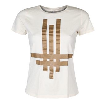 tričko dámské Behemoth - Tri Cross - Natural - KINGS ROAD - 20132868
