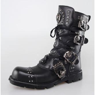 boty NEW ROCK - 1474-S1 - Itali Negro