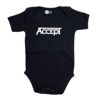 body dětské Accept - Logo - Black - Metal-Kids - 453-30-8-7