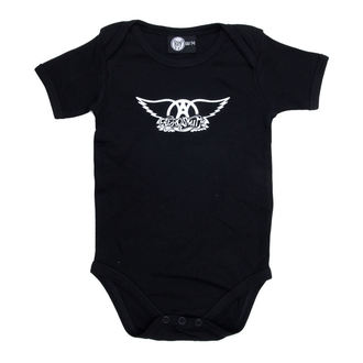 body dětské Aerosmith - Logo - Black, Metal-Kids, Aerosmith