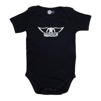 body dětské Aerosmith - Logo - Black - Metal-Kids