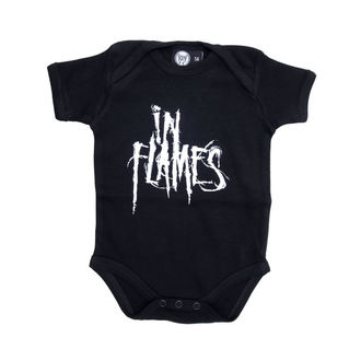 body dětské In Flames - Logo - Black - Metal-Kids, Metal-Kids, In Flames