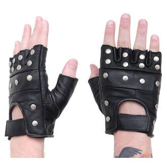 rukavice kožené - pyramidky