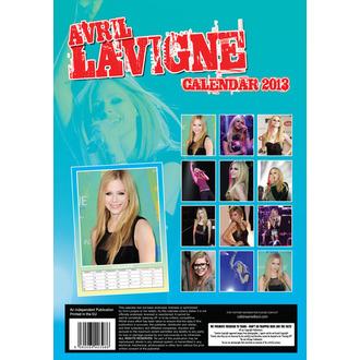 kalendář na rok 2013 Avril Lavigne