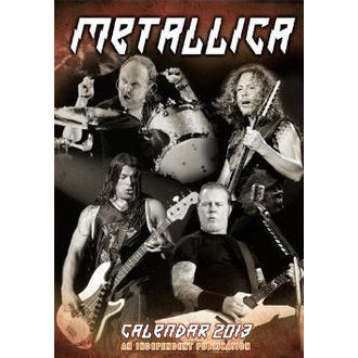 kalendář na rok 2013 Metallica - DRM-017