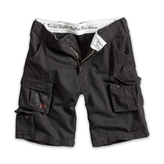 kraťasy pánské SURPLUS - Trooper Shorts - Black, SURPLUS