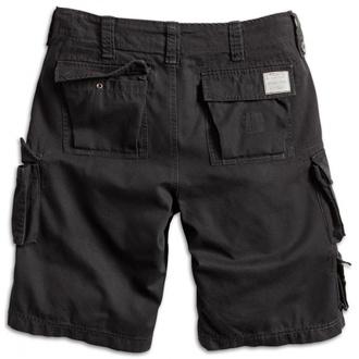 kraťasy pánské SURPLUS - Trooper Shorts - Black - 07-5600-63
