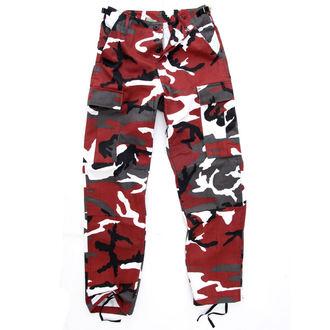 kalhoty pánské US BDU - RED-CAMO, BOOTS & BRACES