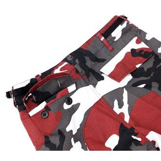 kalhoty pánské US BDU - RED-CAMO