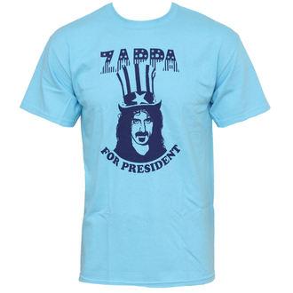 tričko pánské Frank Zappa - Zappa For President - Blue - PLASTIC HEAD, PLASTIC HEAD, Frank Zappa