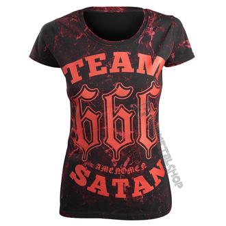 tričko dámské AMENOMEN - TEAM SATAN, AMENOMEN