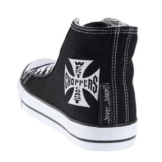 boty pánské West Coast Choppers - Warriors - Black - WCCSH001ZW