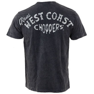 tričko pánské West Coast Choppers - Real Vintage - Black