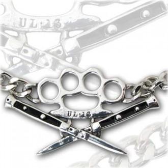 obojek Switchblade Choker - ALCHEMY GOTHIC - ULP31