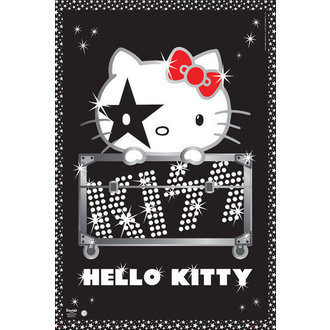 plakát Hello Kitty - Kiss Tour - GB Posters, HELLO KITTY, Kiss
