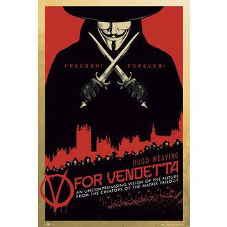 plakát V jako Vendeta - One Sheet - GB Posters, GB posters
