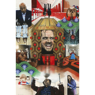 plakát Paul Stone - The Shining - GB Posters, GB posters