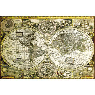 plakát World Map Historical - GB Posters - GN0685