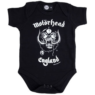body dětské Motorhead - England - Black - Metal-Kids - 466-30-8-7