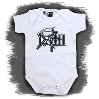 body dětské Death - Logo - White, Metal-Kids, Death