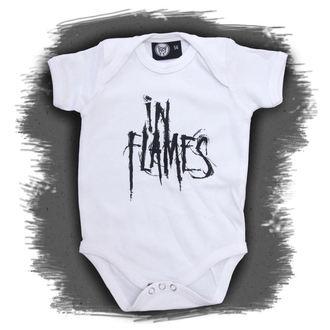 body dětské In Flames - Logo - White - Metal-Kids, Metal-Kids, In Flames