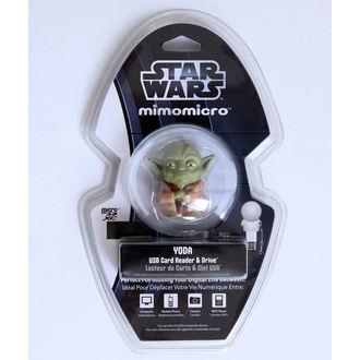 USB čtečka micro SD karet (flash disk) - STAR WARS - Yoda