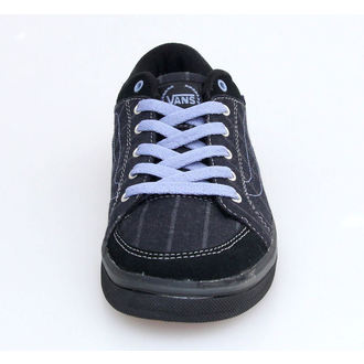 boty dámské VANS - W Skyla - Menswear - BLACK-GREY, VANS