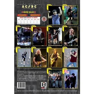 kalendář na rok 2013 - AC/DC, AC-DC